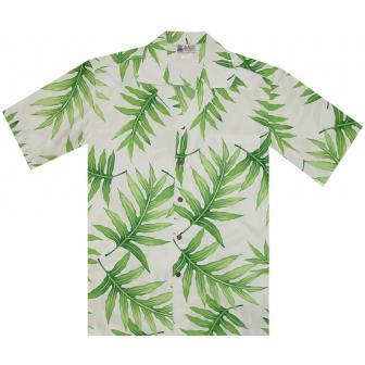 Original Hawaiihemd Aloha Palm Leaf