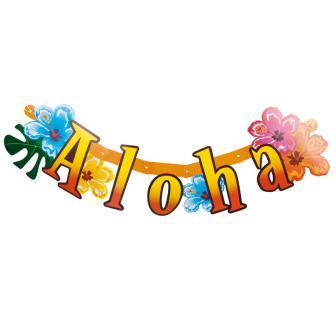 "Buchstabengirlande ""Aloha"" 83 cm"