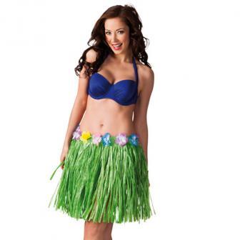 """Hawaii Bastrock """"Luau"""" 45 cm-grün"""