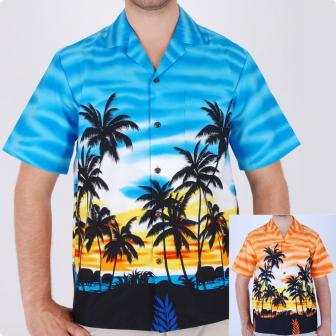 Original Hawaiihemd Giant Hawaiian Palms