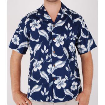 Original Hawaiihemd Hibiscus Flower
