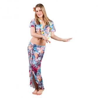 """Kostüm """"Hawaiianische Tänzerin"""" 4-tlg."""