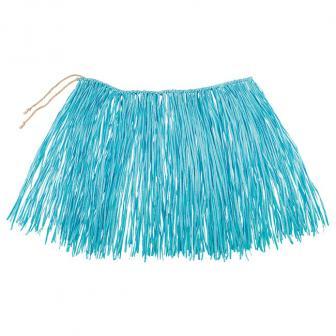 """Kurzer Bastrock """"Aloha"""" 40 cm-blau"""