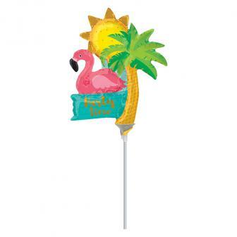 """Mini Folien-Ballon """"Summer Party Time"""" 32 cm"""