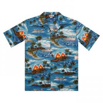 Original Hawaiihemd Adventure Aloha Island