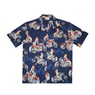 """Original Hawaiihemd """"Bikes & Girls"""""""