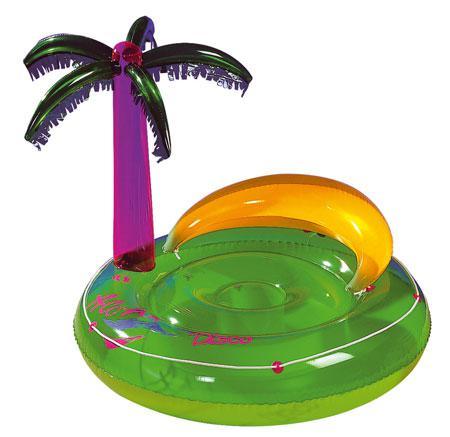 aufblasbare badeinsel aloha disco g nstig kaufen bei. Black Bedroom Furniture Sets. Home Design Ideas