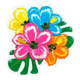 3D-Wanddeko Hibiskusblütenzauber 38 cm