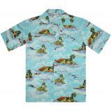 Original Hawaiihemd Paradise Island