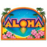 Dekoschild Aloha 45 x 63 cm