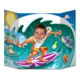 Fotowand Surfer auf Hawaii 94 x 64 cm