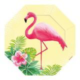 "Kleine Form-Teller ""Flamingo Paradise"" 6er Pack"