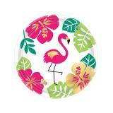 """Kleine Pappteller """"Aloha Sommer"""" 8er Pack"""