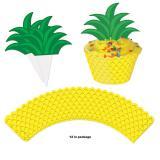 "Muffin-Deko Set ""Ananas"" 24-tlg."