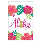 "Papier-Tischdecke ""Aloha Sommer"" 137 x 259 cm"