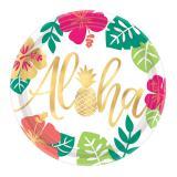 """Pappteller """"Aloha Sommer"""" 8er Pack"""
