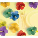 "Streudeko ""Hibiskus Blüten"" 24er Pack"