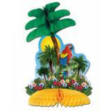 Tischdeko Tropische Insel 30 cm