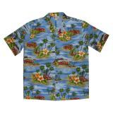 Original Hawaiihemd Waikiki Beach Trip