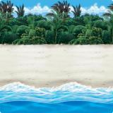Wanddeko Beach 1,2 x 12,2 m