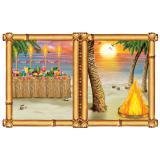 Wanddeko Hawaiianische Beachparty 157 cm